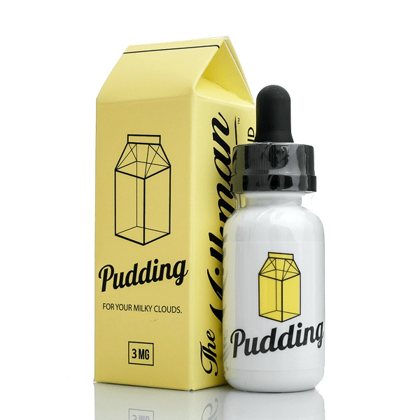 30ML MILKMAN PUDDING (CREAMY VANILLA BEAN PUDDING, LEMON, MILK) – E LIQUID  BY VAPING RABBIT